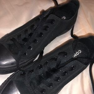 Women's Size 7 Converse - 2 Pairs